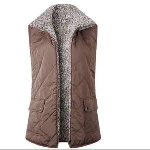 Goodnight Macaroon 'Iram' Reversible Fleece Vest